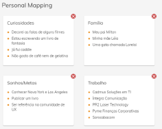 Personal Mapping